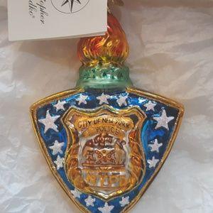 Radko 9/11 Christmas ornament